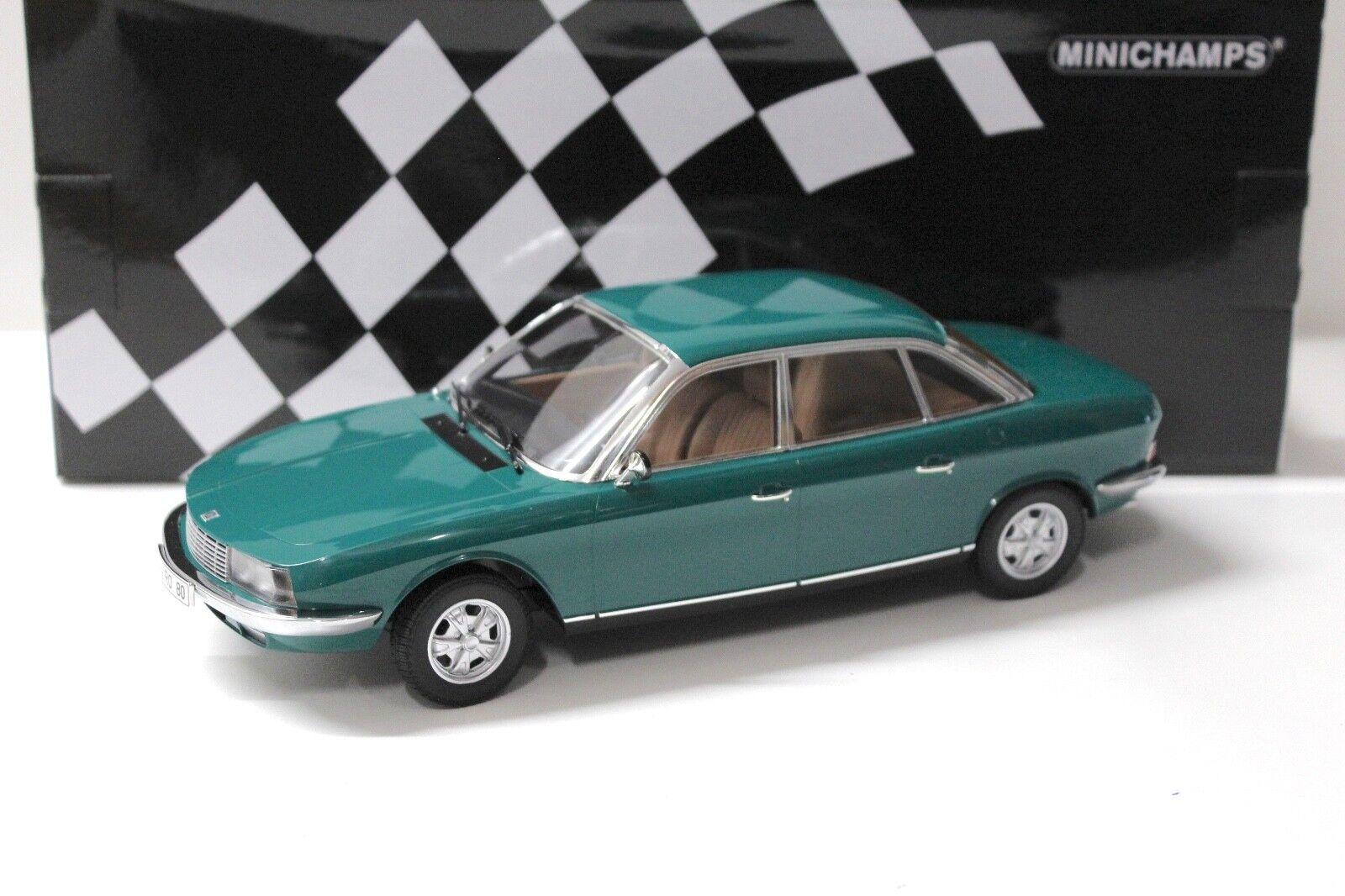 1 18 Minichamps Audi NSU RO 80 vert 1972 New chez Premium-modelcars
