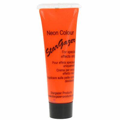 Body Paint Neon Skin Party Fun Women Girl Stargazer Colour - Orange Glow