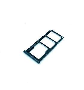Carrello-Porta-SIM-SD-Vano-Lettore-Slot-Scheda-Per-Samsung-Galaxy-A50-Nero