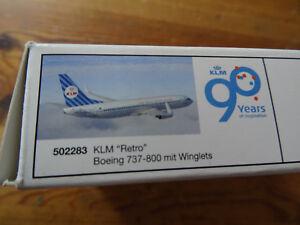 KLM 737-800 Retro,90Jahre Herpa 1/500 (Sammelversand mögl.) - Bliedersdorf, Deutschland - KLM 737-800 Retro,90Jahre Herpa 1/500 (Sammelversand mögl.) - Bliedersdorf, Deutschland