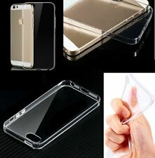 Migliore Qualità TPU Chiara in Silicone Gel Custodia Cover per Apple iPhone 5s/5 e vetro