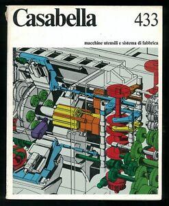 Architettura  Casabella  n. 433 aprile 1978 Direttore Maldonado