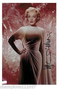 marlene dietrich autogramm hollywood legende 3 ebay. Black Bedroom Furniture Sets. Home Design Ideas