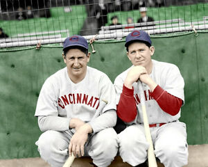 Ernie-Lombardi-Derringer-Photo-8X10-Reds-1940-COLORIZED-Buy-Any-2-Get-1-Free