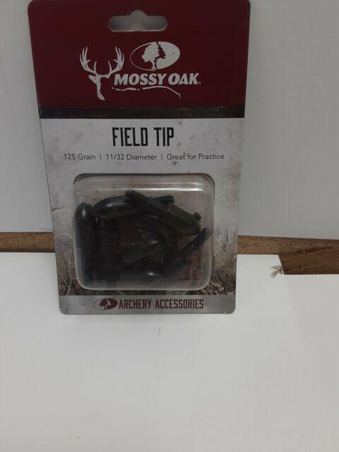 Mossy Oak Archery Field Tips 125 Grain 11//32 Diameter Arrows 20 Total for sale online