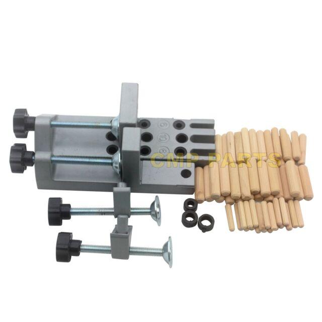 SINOCMP Universal Doweling Jig Set for Drilling 6, 8 &10mm Dowel Holes