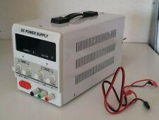 30v 10a Adjustable Dc Power Supply Precision Variable Dual Digital Lab Test 110v
