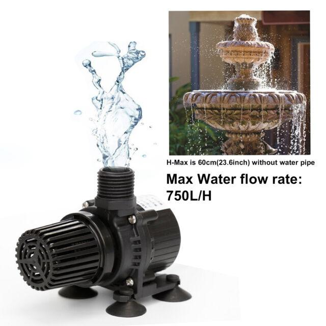 24W 1200L//H Brushless Water Pump Submersible Pond Fountain Aquarium Pump