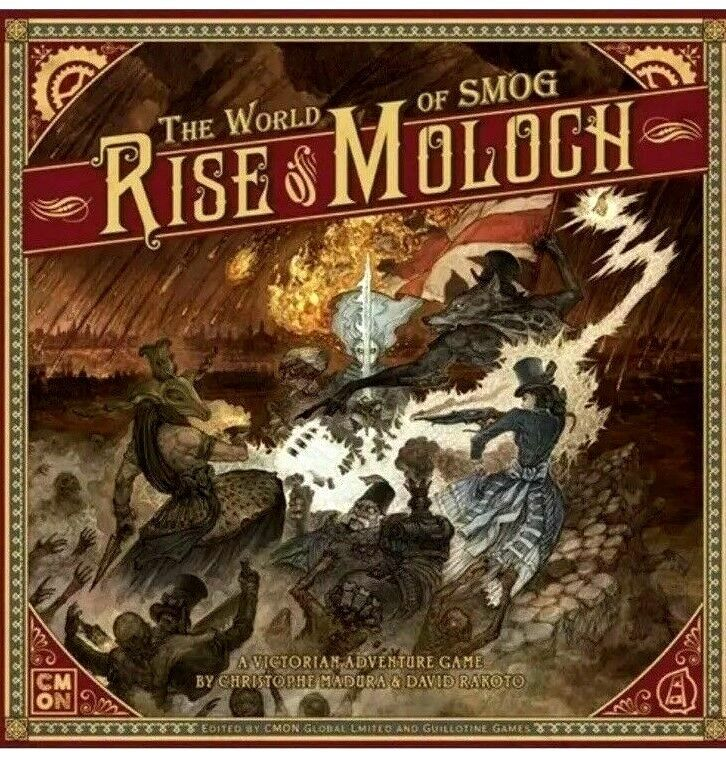 NEW & Sealed The World Of Smog - Rise Of Moloch Board Game