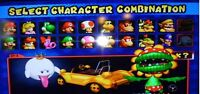 Memory Card - Super Smash Bros Melee + Mario Kart Nintendo Gamecube Unlocked