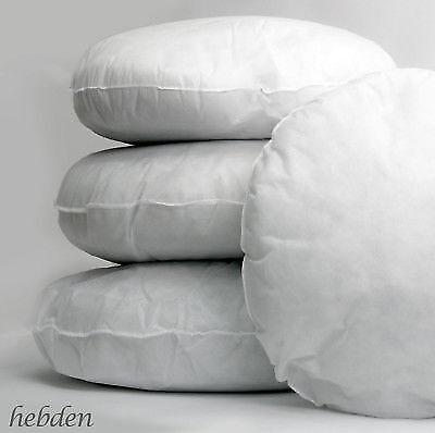 30/% Extra Rempli Fibre Creuse Carré Rond Ovale Cushion Pad Insert Inner Filler