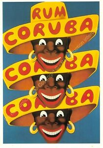 CP Poster Advertising Coruba Rum Edit Nugeron J102