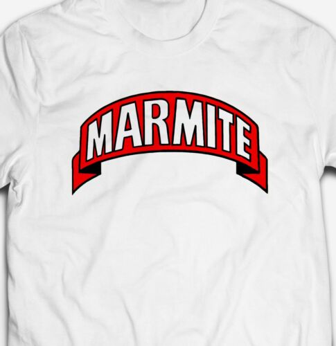 MARMITE YEAST EXTRACT FOOD Mens-Fit 100/% Cotton T-shirt TEE Shirt