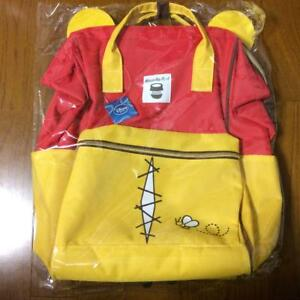 Details about Disney Winnie the Pooh Pooh Smoked rucksack Backpack Backpack  with Pooh's ear