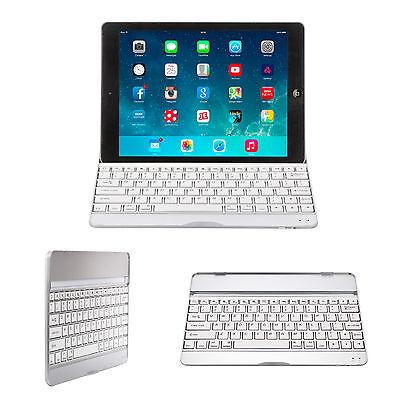 Ultra Slim Bluetooth Wireless Keyboard Stand Case for Apple iPad / Air / Mini