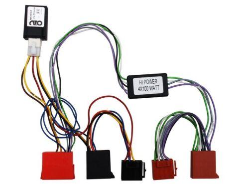 Activo-System-adaptador audi a2 a3 a4 a6 Can-Bus Matrix Radio Adaptador Conector Radio