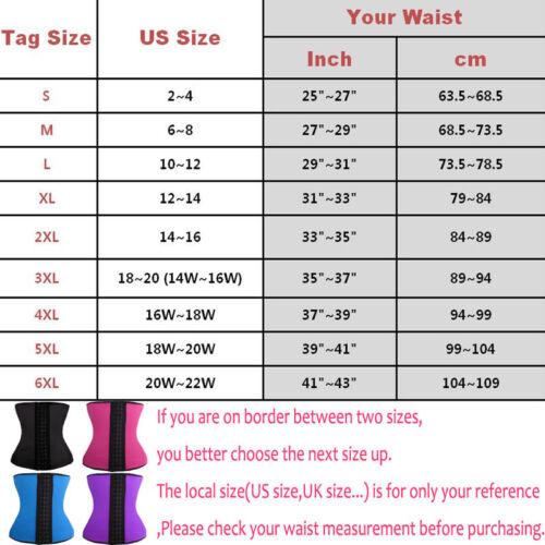 Fajas Colombianas Shapewear Latex Rubber Waist Trainer Underbust Corset Shaper