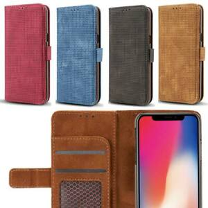 For-iPhone-11-Pro-X-XS-Wallet-Mesh-Leather-Case-Stand-Card-Slot-Flip-Case-Cover