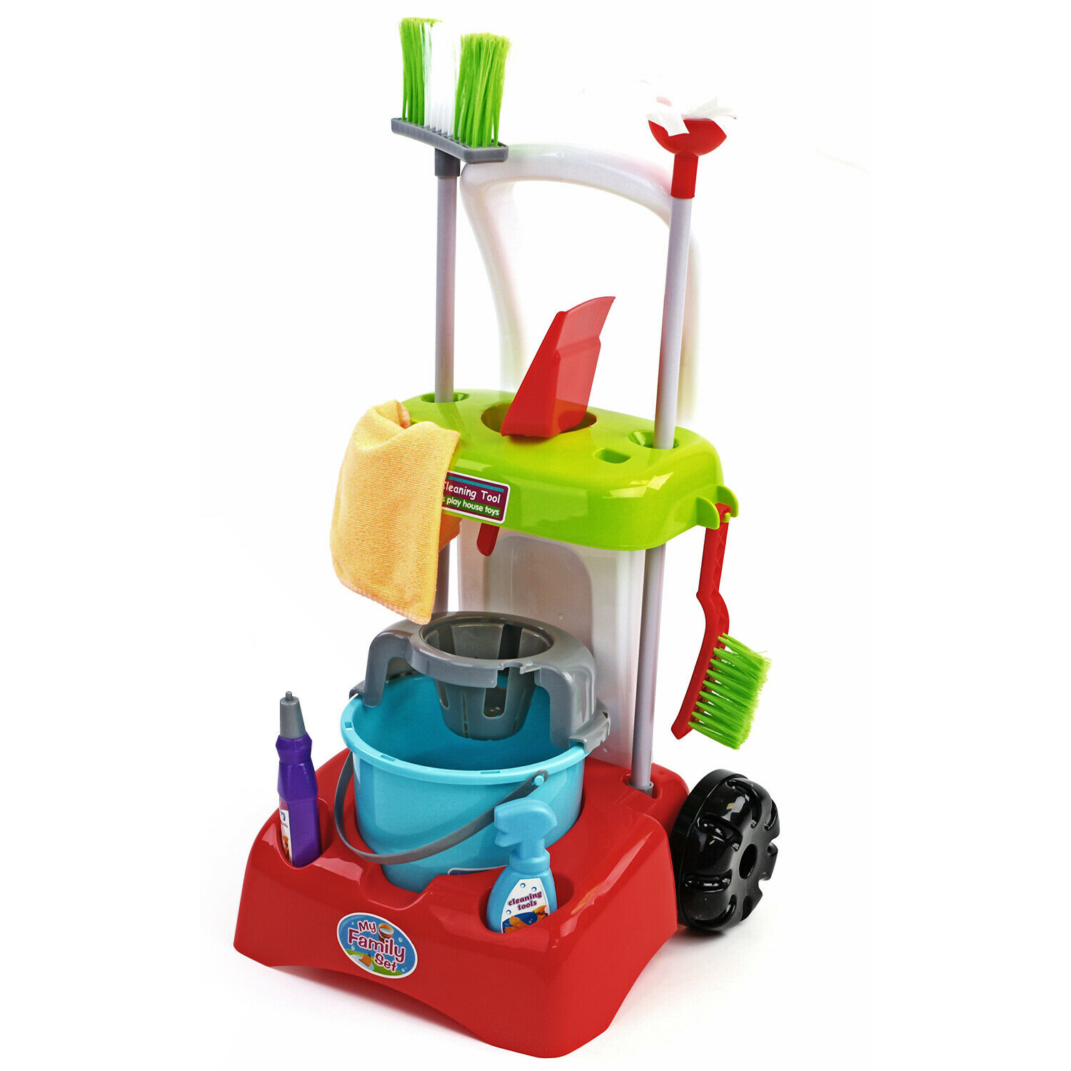 Cleaning Trolley Set 6-tlg Cleaning Car Cleaning Supplies Car Professional Double Driving Car