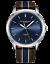 Stuhrling-Men-039-s-3992-Miyota-Japan-Quartz-44mm-Classic-Ultra-Slim-Leather-Watch miniature 1
