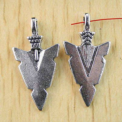 10pcs Arrowhead charms for Jewelry Making h0951