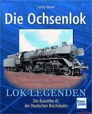 Fachbuch Die Ochsenlok, Baureihe BR 41 der DR, viele Bilder, sehr informativ NEU