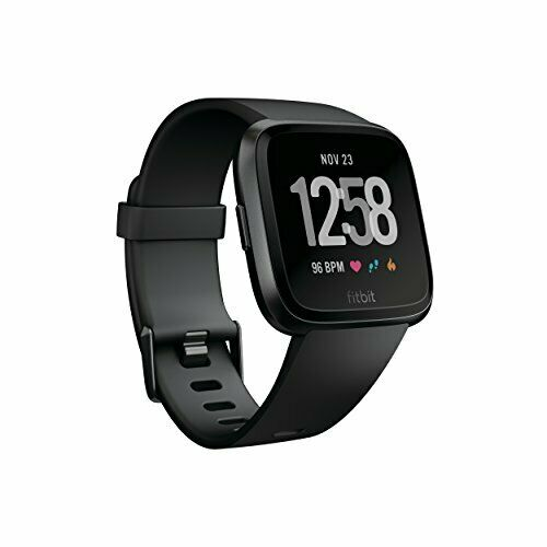 4 /& Fitness Smartwatch mit Herzfrequenzmessung Tage Fitbit Versa Gesundheits