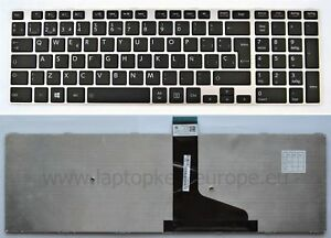 Espanol-Teclado-Toshiba-C70-A-U50-M50-L50-L70-S50-S55-S70-TO88-S-SP