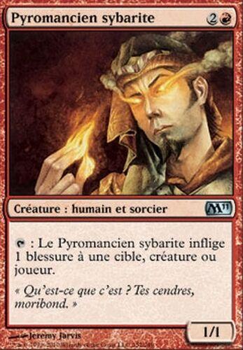 Prodigal Pyromancer ▼▲▼ 4x Pyromancien sybarite M11 2011 #152 VF Magic