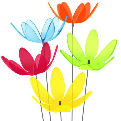 Gartenstecker versch.Farben Seerosen SUNPLAY Sonnenfänger Ø15cm Sets Suncatcher