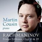 Rachmaninov Etudes-Tableaux op.33 & 39 von Martin Cousin (2014)