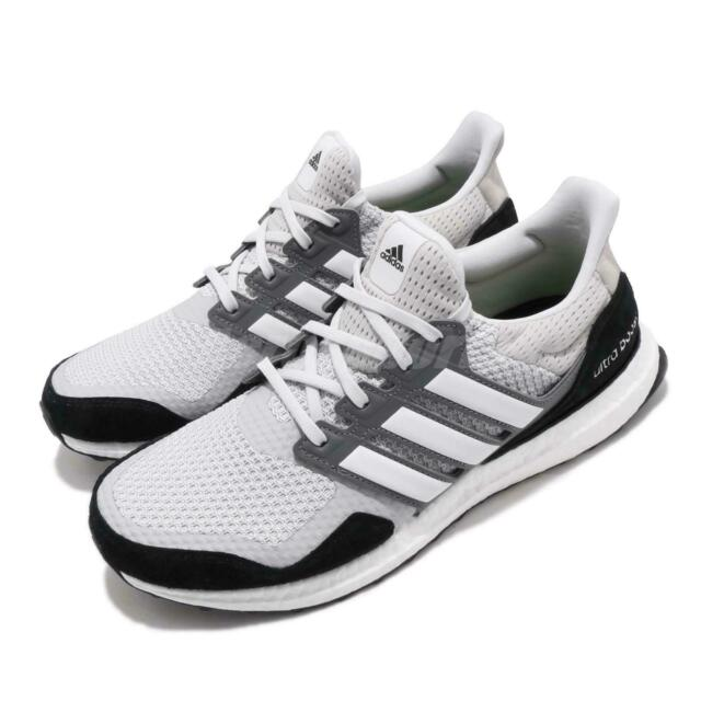 ff76c58193027 adidas UltraBOOST S L Grey Black White Mens Running Shoes BOOST EF0722
