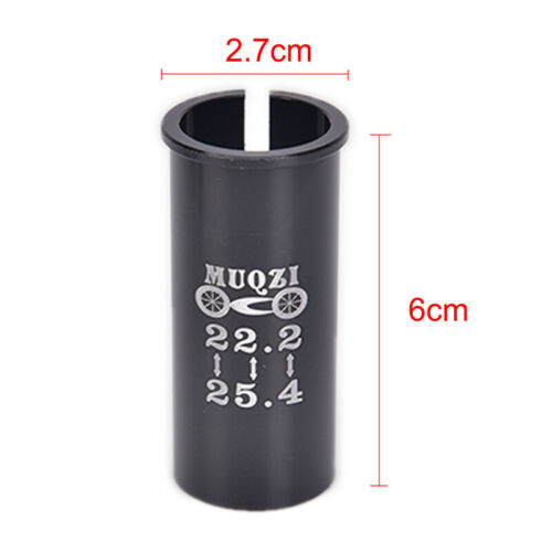 Alloy Bike Seat Post Tube Seatpost Reducing Sleeve Adapter Adjust Diameter BS LY