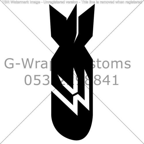 "Volkswagen Rocket sticker universal for all cars 6/"" vinyl  High quality JDM"