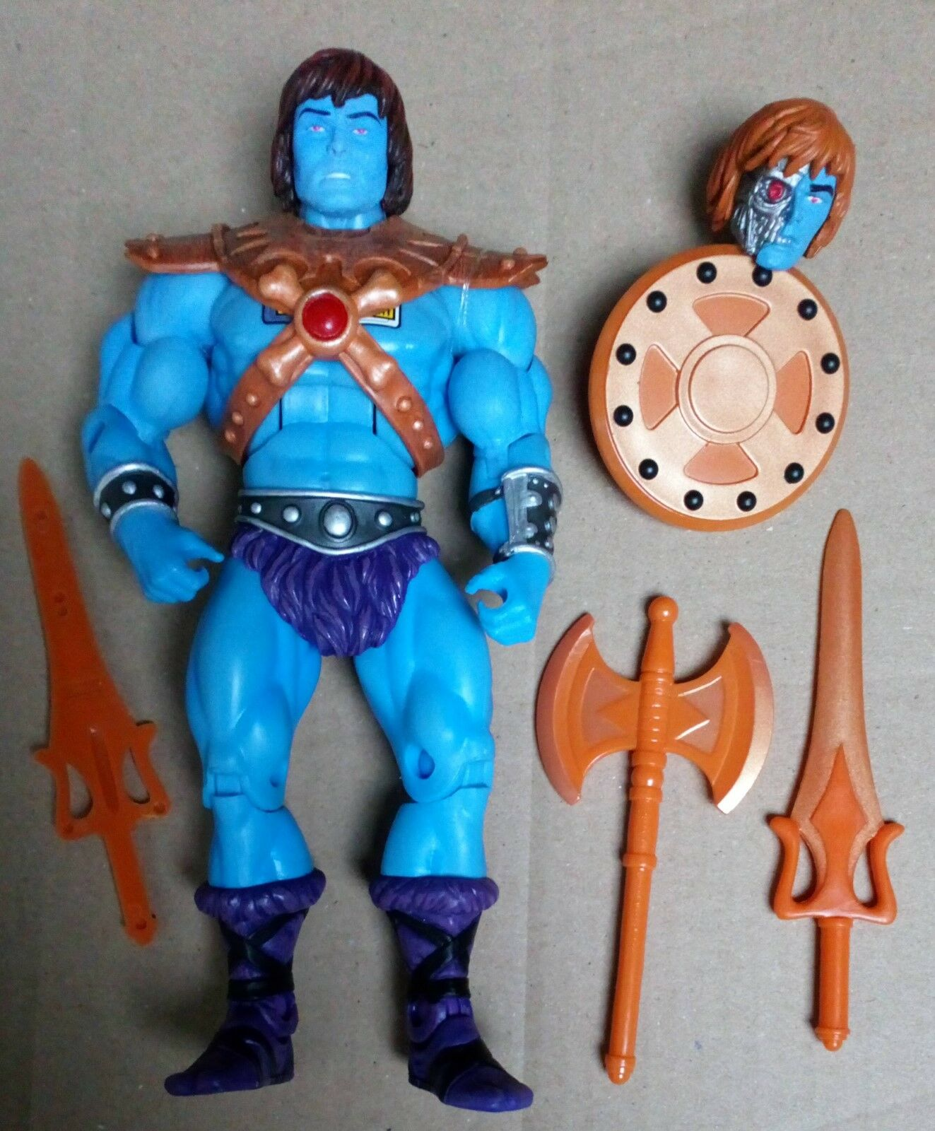 Masters of the Universe Classics Faker MINT Complete He-Man MOTU MOTUC