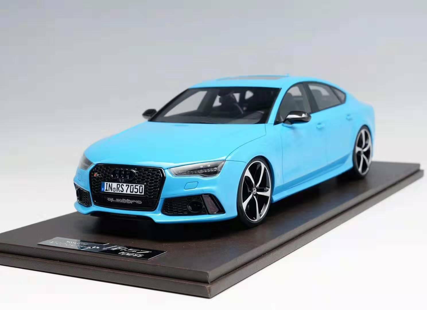 1 18 MotorHelix Audi RS7   in   bleu  grand choix et livraison rapide