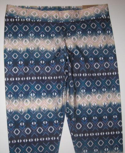 NWT AMERICAN EAGLE GEOMETRIC AZTEC TRIBAL HI RISE STRETCH ANKLE LEGGINGS PANTS