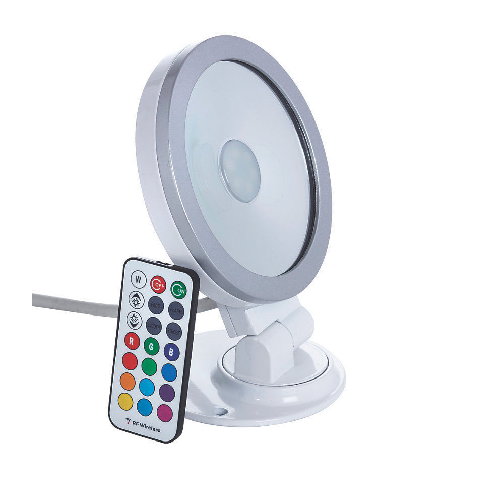 Sin Controladores Ispot RGB blancoo 9w LED Luz de Inundación Ip65
