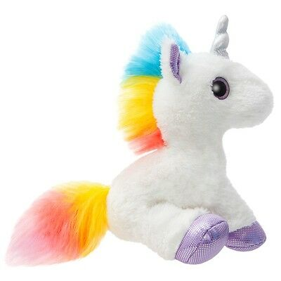 "Sparkle Tales Dazzle Unicorn 12"" Plush Cuddy Soft Toy Teddy by AURORA"