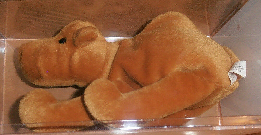 Hard to Find Authenticated Ty Humphrey Beanie Baby - 1st Tush
