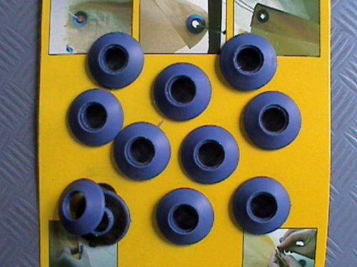 50 piezas de plástico ojales ojales de plástico 10 mm ojal kunststofföse planenöse programar