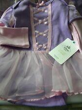 Disney Princess costume dress bodysuit RAPUNZEL TANGLED  NEW TAGS SZ 2 YRS