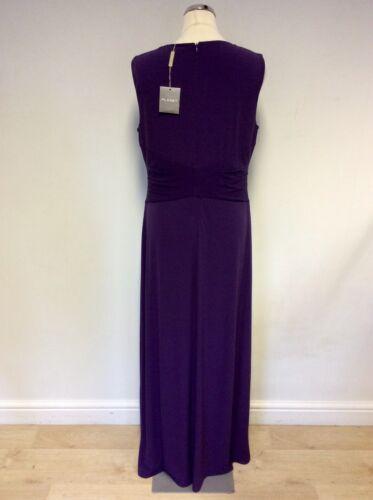 Planet 12 OccasionEvening Purple Size Maxi Bnwt Special Dress tQBrChdxos