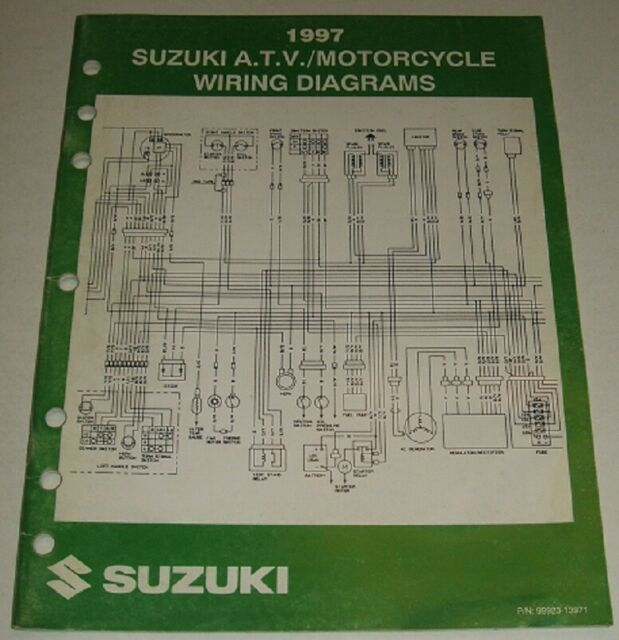 1997 Suzuki Wiring Diagram Manual Gsxr Gsx Dr Vs Ls Vs 125