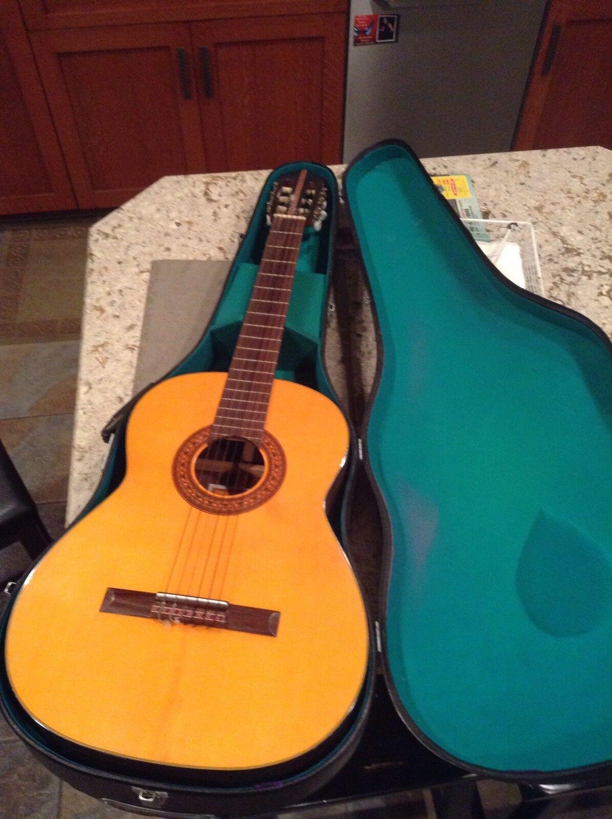 MARUHA HASHIMOTO CLASSICAL GUITAR  No.236 Rare Classic Guitar HARD CASE