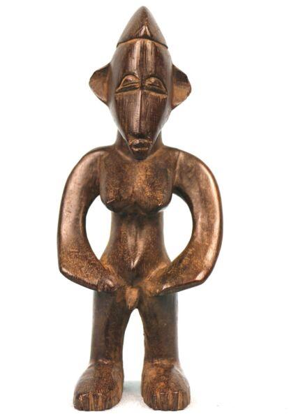 2019 Moda Arte Africano - Statuetta Votiva Senoufo - Morfologia Eccezionale - 22 Cm
