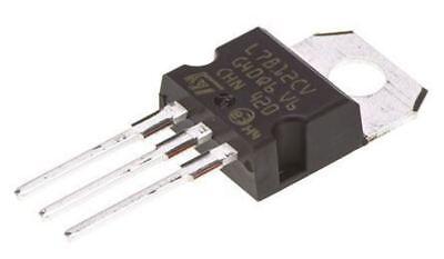 1.5 A 12 V L7812CV linéaire Régulateur de tension STMicroelectronics 3-Pin TO-220