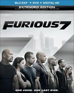 Furioso-7-2-Discos-Bluray-Dvd-Con-Slipcover-2013-sellado-de-fabrica