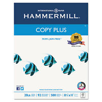 Hammermill Copy Plus Copy Paper 92 Brightness 20lb 8-1/2 X 11 White 5000 Sheets on sale