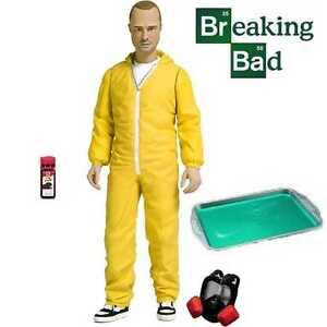 Breaking Bad 6034 Jesse Pinkman Figure in Yellow Hazmat Suit  New - United Kingdom, United Kingdom - Breaking Bad 6034 Jesse Pinkman Figure in Yellow Hazmat Suit  New - United Kingdom, United Kingdom